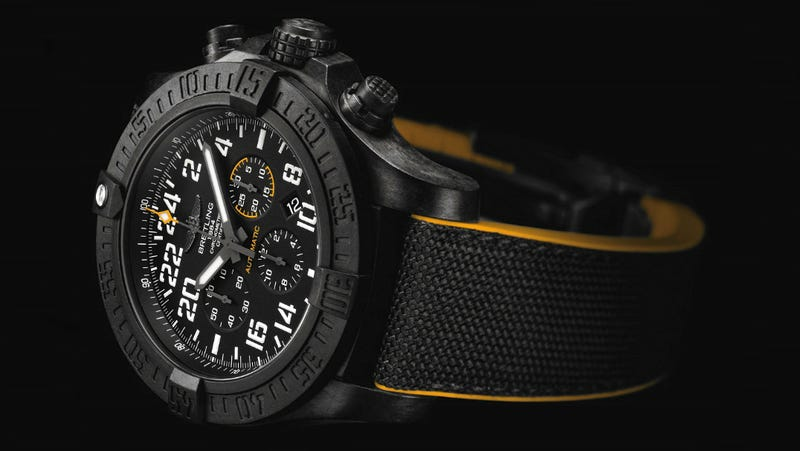 Illustration for article titled Breitling's First Plastic Watch Still Costs a Damn Fortune