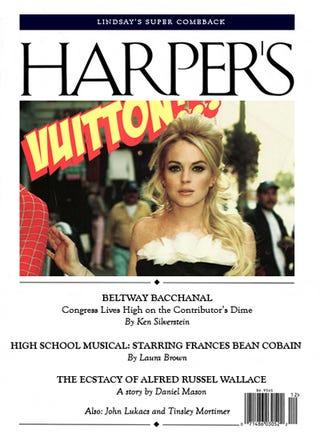 Illustration for article titled The Harper's (Bazaar) Index: Designer Diets, Little Miss Mortimer & Lindsay Lohan's DUIs
