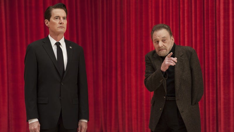 Kyle MacLachlan (left), Al Strobel (Photo: Suzanne Tenner/Showtime)