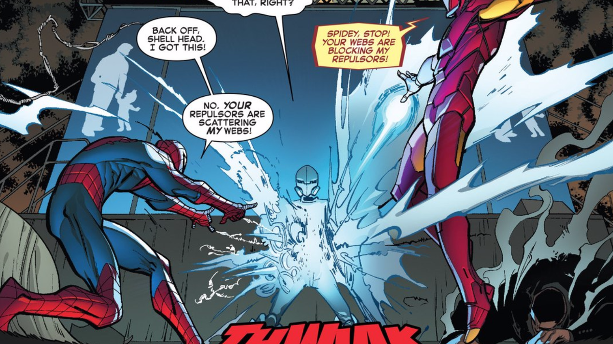 Spider-Man And Iron Man Have Beef Now