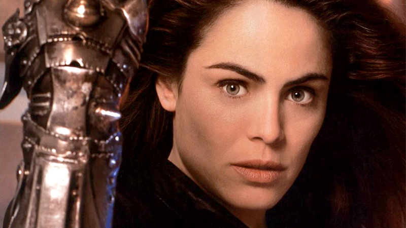 Yancy Butler in TNT's Witchblade adaptation, circa 2000.