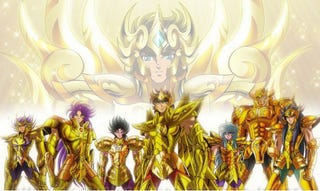 Illustration for article titled Saint Seiya Soul of Gold will come to Latin América!