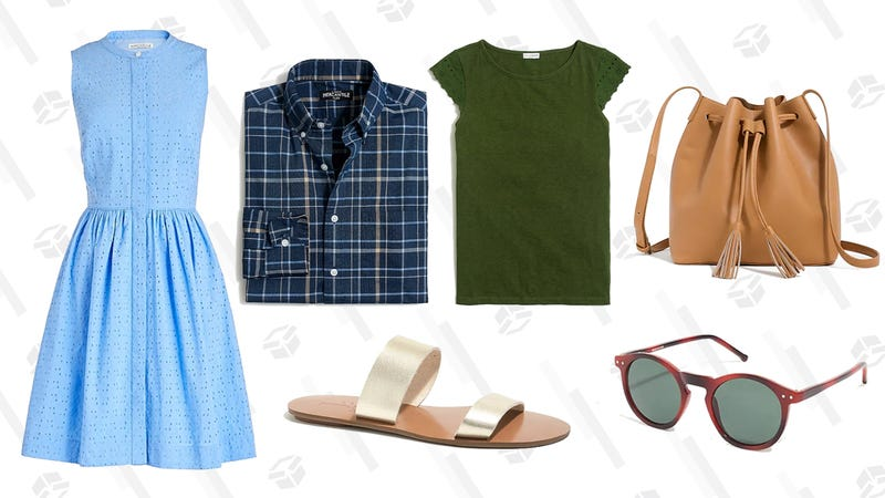 50% Off Sitewide, Plus an Extra 15% Off | J.Crew Factory | Promo code FLOWERPOWER