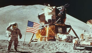 How Did Lunar Landers Relaunch When There's No Oxygen on the Moon?