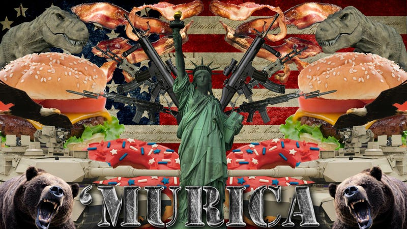 Illustration for article titled 'Murica Day!!