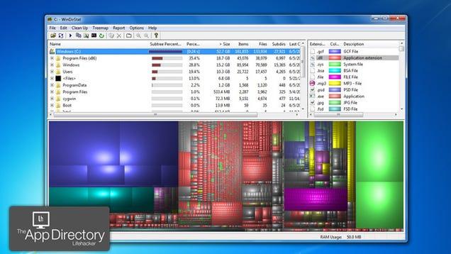 Drive Space Analyzer : The best disk space analyzer for windows