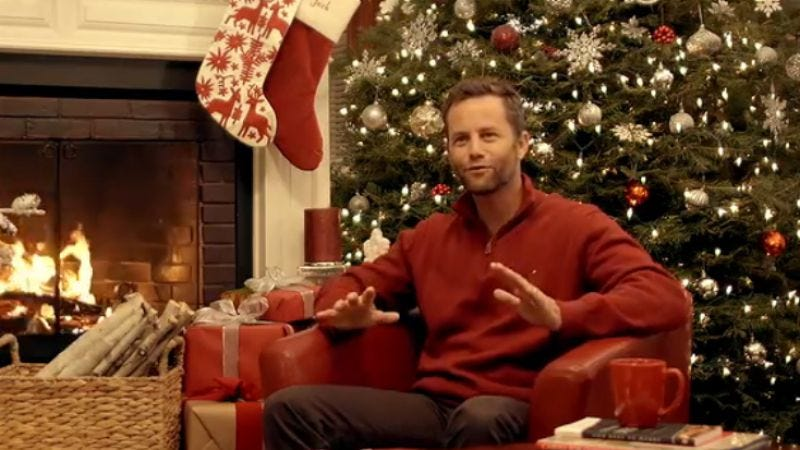 although the fact that december 25 has not yet been firebombed off the calendar proves kirk cameron did in fact save christmas this year like any martyr - Christmas Eve Imdb