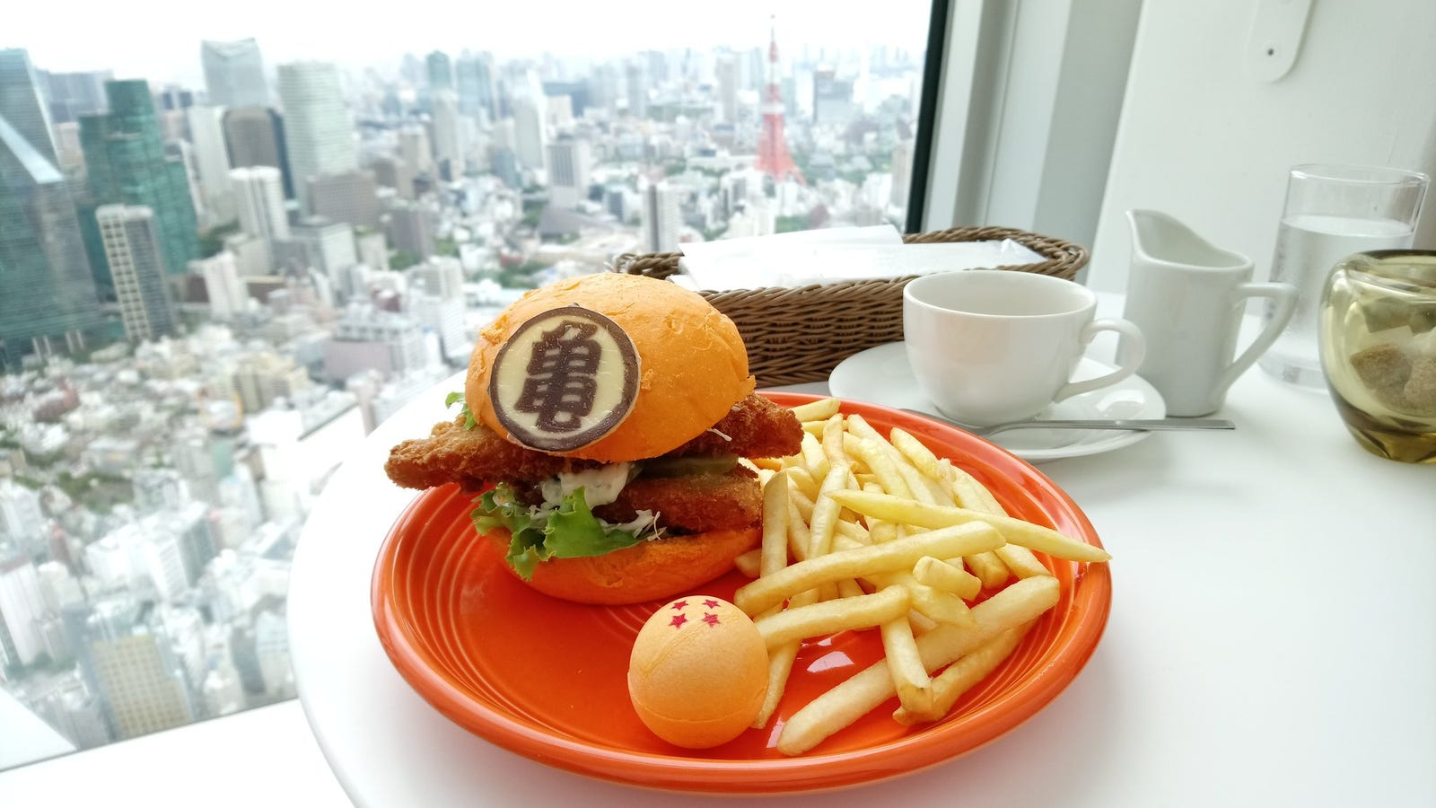 Dragon Ball Burgers Exist In Japan