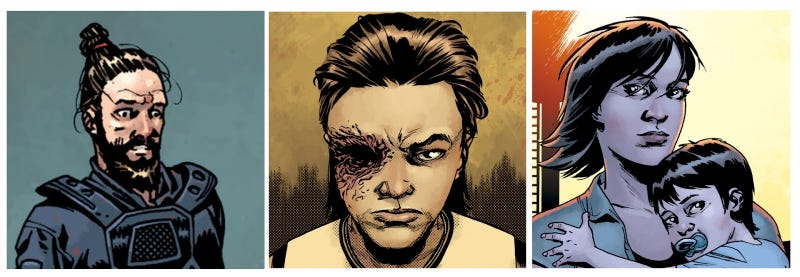 Illustration for article titled No, The Walking Dead Comic Hasn't Gotten Boring