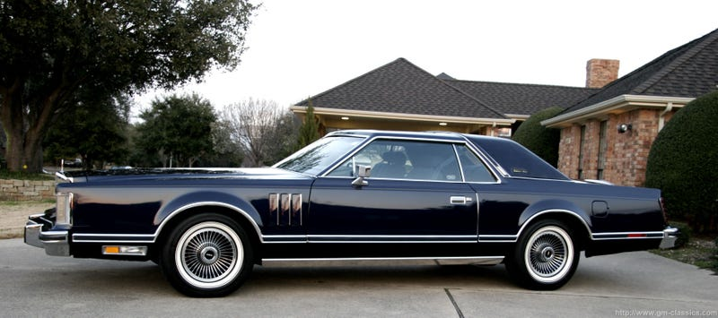 Illustration for article titled Behold the 1979 Lincoln Continental Mark V