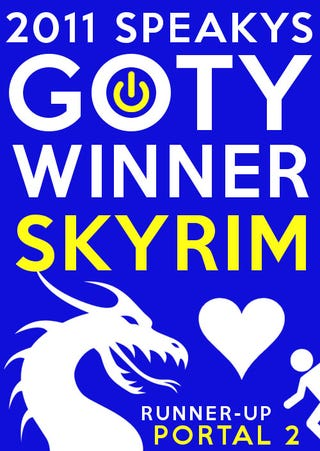 Illustration for article titled The Elder Scrolls V: Skyrim Wins the First Annual Kotaku Community Game of the Year Award