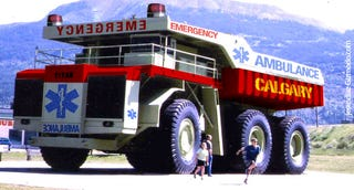 Illustration for article titled Canadians Get Reinforced Ambulance for the Obese