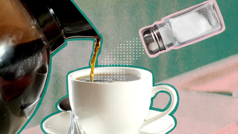 Illustration for article titled Why do some people salt their coffee?