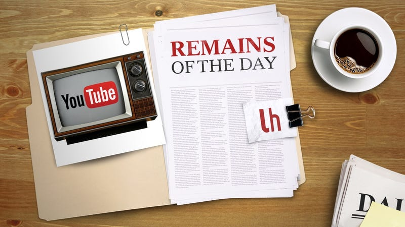 Illustration for article titled Remains of the Day: YouTube Developing Internet TV Service Like Everyone Else