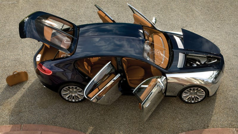Illustration for article titled The Bugatti Galibier Is Dead But An All-New Veyron Isn't
