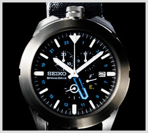 Illustration for article titled Seiko Spring Drive Spacewalk Watch Brings Out Your Inner Space Cowboy
