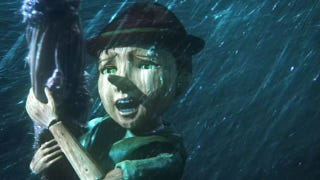 Illustration for article titled Once Upon A Time finds its heart in the utterly disturbing CG face of Pinocchio