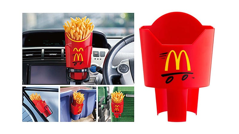 Illustration for article titled Dedicated McDonald's French Fry Holders Should Come Standard in Everything