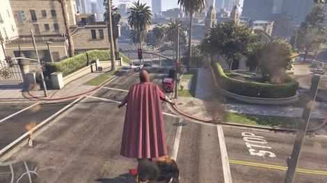 Grand Theft Auto V Mod Lets You Become The Predator