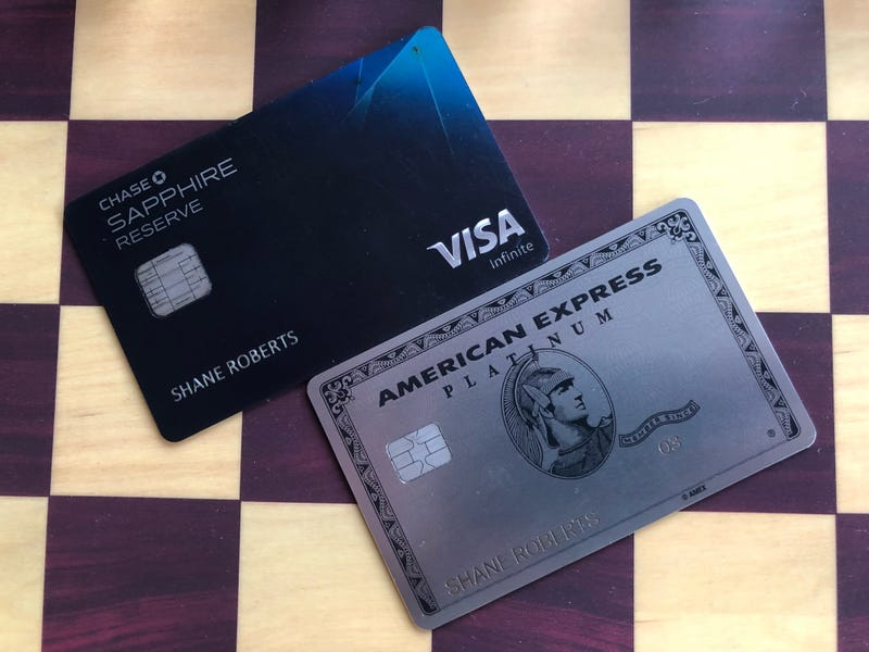 Chase Sapphire Reserve v. American Express Platinum: Why Not Both?