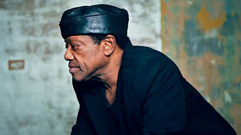 "Illustration for article titled Bobby Womack's latest exemplifies the profound awkwardness of ""art of dying"" albums"