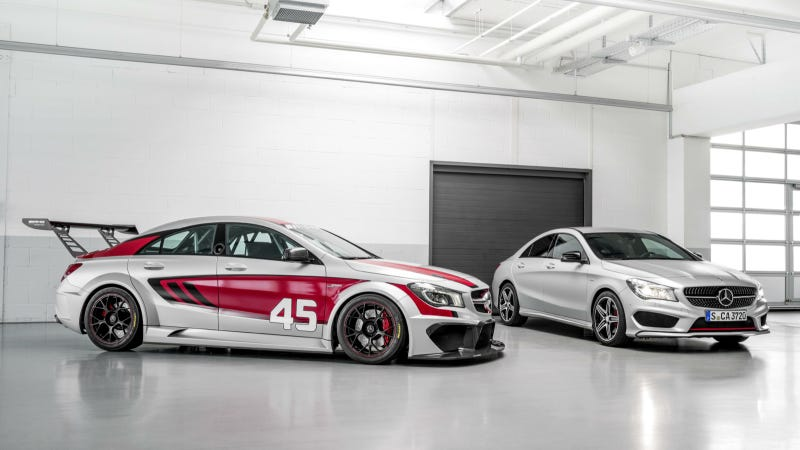 Illustration for article titled CLA 45 AMG Racing Series: New to the CLA Range: CLA 45 AMG Racing Series