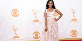 Kerry Washington arrives at the 65th Annual Primetime Emmy Awards. (Jason Merritt/Getty Images)