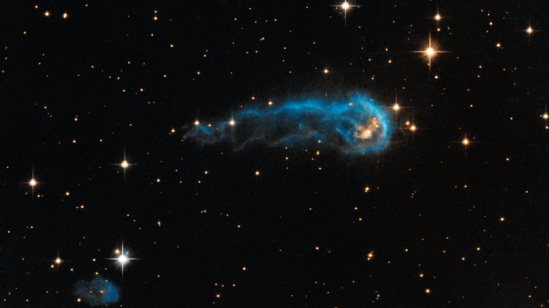 Illustration for article titled This cosmic caterpillar might someday look just like our Sun