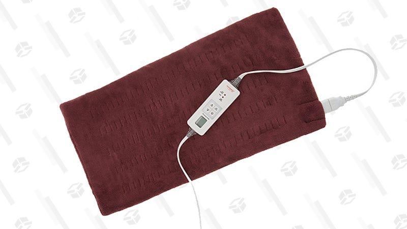Sunbeam King Size MicroPlush XPressHeat Electric Heating Pad | $28 | Amazon