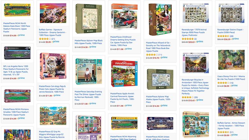 Puzzle Gold Box | Amazon