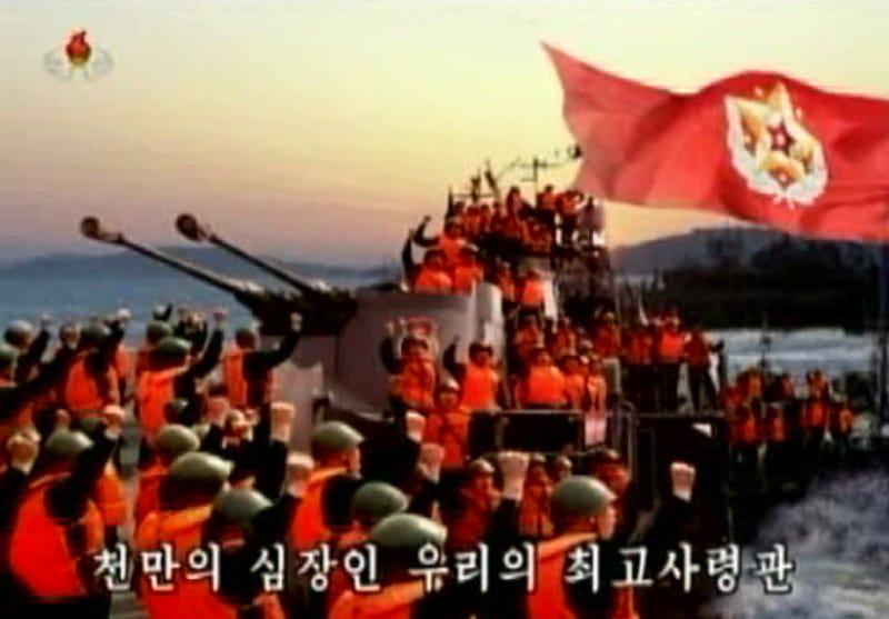 Illustration for article titled Töltsd a Húsvétodat a dicsőséges Észak-Korea állami tévéjével!