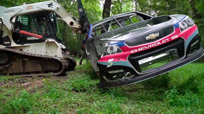 Here's How Dale Earnhardt Jr.'s Secret NASCAR Graveyard Works