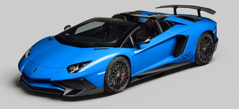 Illustration for article titled Lamborghini Aventador Superveloce Roadster: Meet The Least Subtle Car On Earth