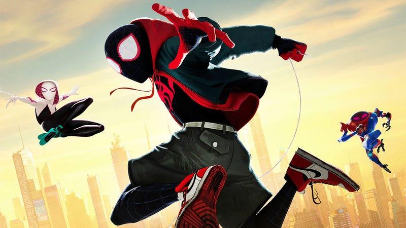 Illustration for article titled Ya puedes hacerte con unas Nike Air Jordan inspiradas en las deSpider-Man: Into The Spider-Verse