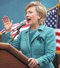 Illustration for article titled Clinton Blasts Obama For Slamming Edwards Jab