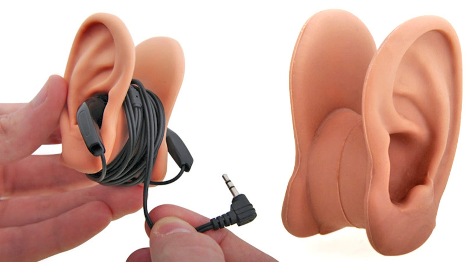 red dot earbuds - Where Better To Store Your Earbuds Than On a Pair Of Ears?