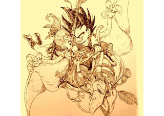Illustration for article titled Dragon Ball Fan Art is Full of Possibilities