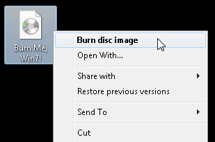 Illustration for article titled How to Burn ISOs in Windows 7