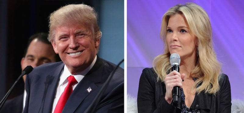 Illustration for article titled Donald Trump Wants 'Biased' Megyn Kelly To Skip the Next Debate