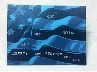 Illustration for article titled George Zimmerman's Painting Sells for $100,000 on eBay