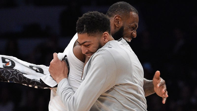 Illustration for article titled Black Twitter Explodes After Lakers Trade Me, You, Your Mama and Your Cousin, Too, for Anthony Davis