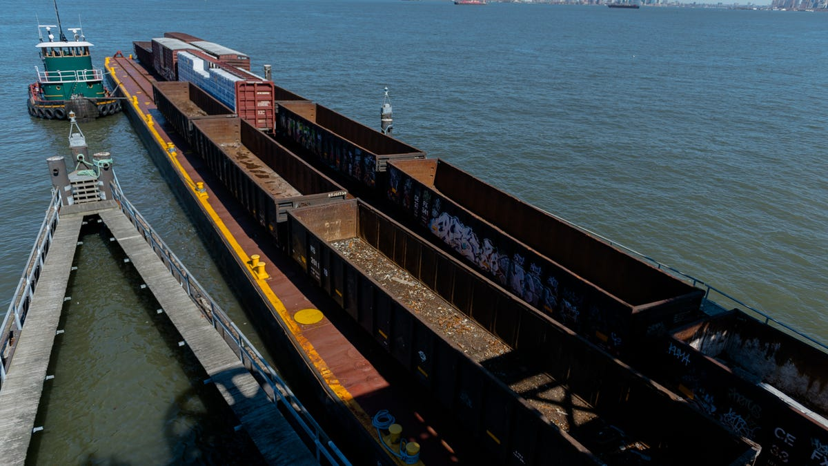 A Rare Trip On The Floating Train Yard Of Hudson Harbor