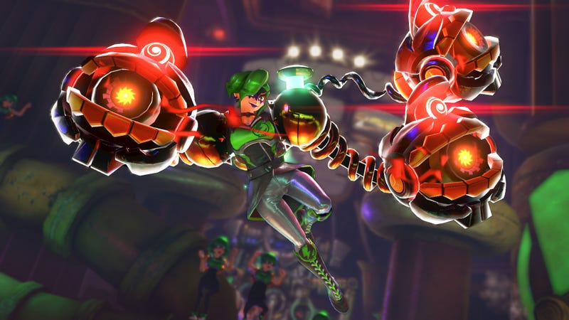 Nintendo's Arms Gets Its Last New Character
