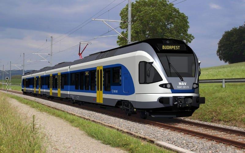 Illustration for article titled Wifi és aljzat is lesz az új elővárosi vonatokon