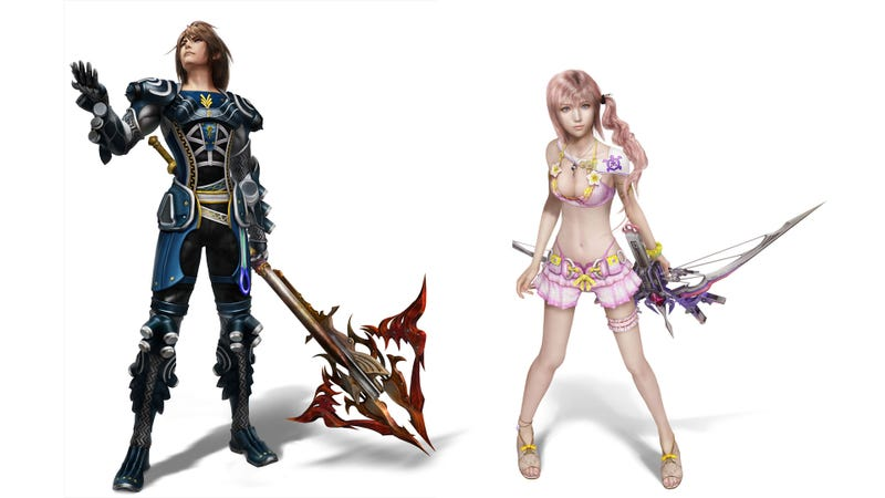 Illustration for article titled These Sexy Final Fantasy XIII-2 DLC Outfits Are Completely Justifiable