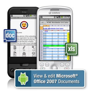 Illustration for article titled Documents To Go for Android Released to Edit Microsoft Office Docs