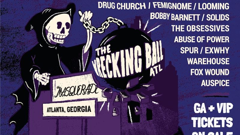 Illustration for article titled A reunited Thursday leads this year's lineup for Atlanta's Wrecking Ball fest