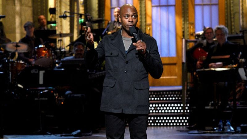 Dave Chappelle performs on Saturday Night Live (Photo: Will Heath/NBC/NBCU Photo Bank via Getty Images)