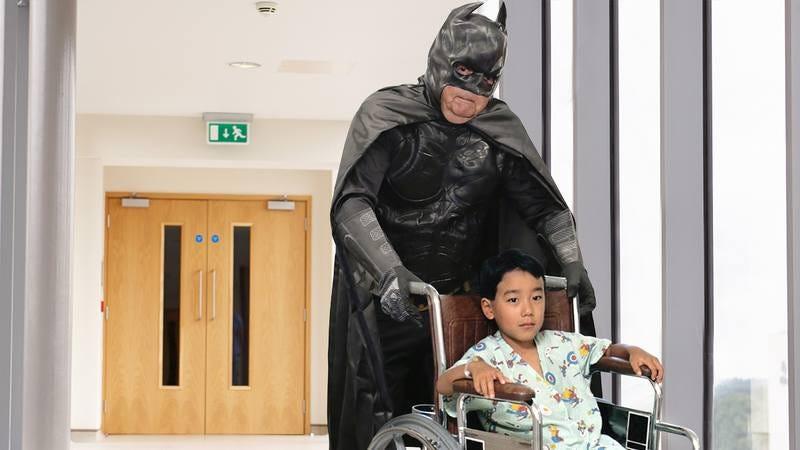 Mitch McConnell as Batman.