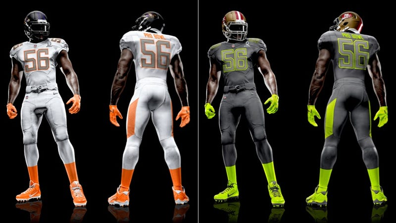 Illustration for article titled The New Pro Bowl Uniforms Are Here